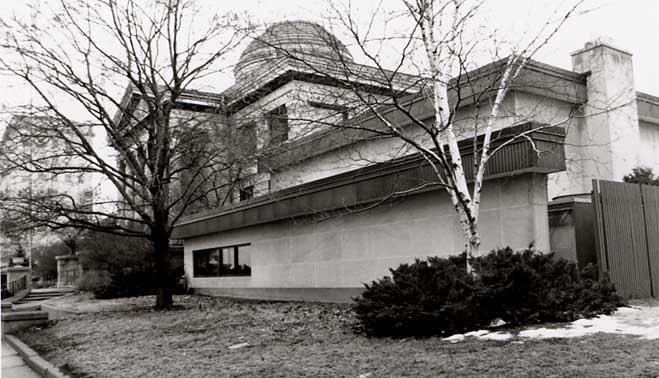 Exterior, south, 1993.