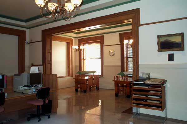 East Reading Room and Alcove, 2000.