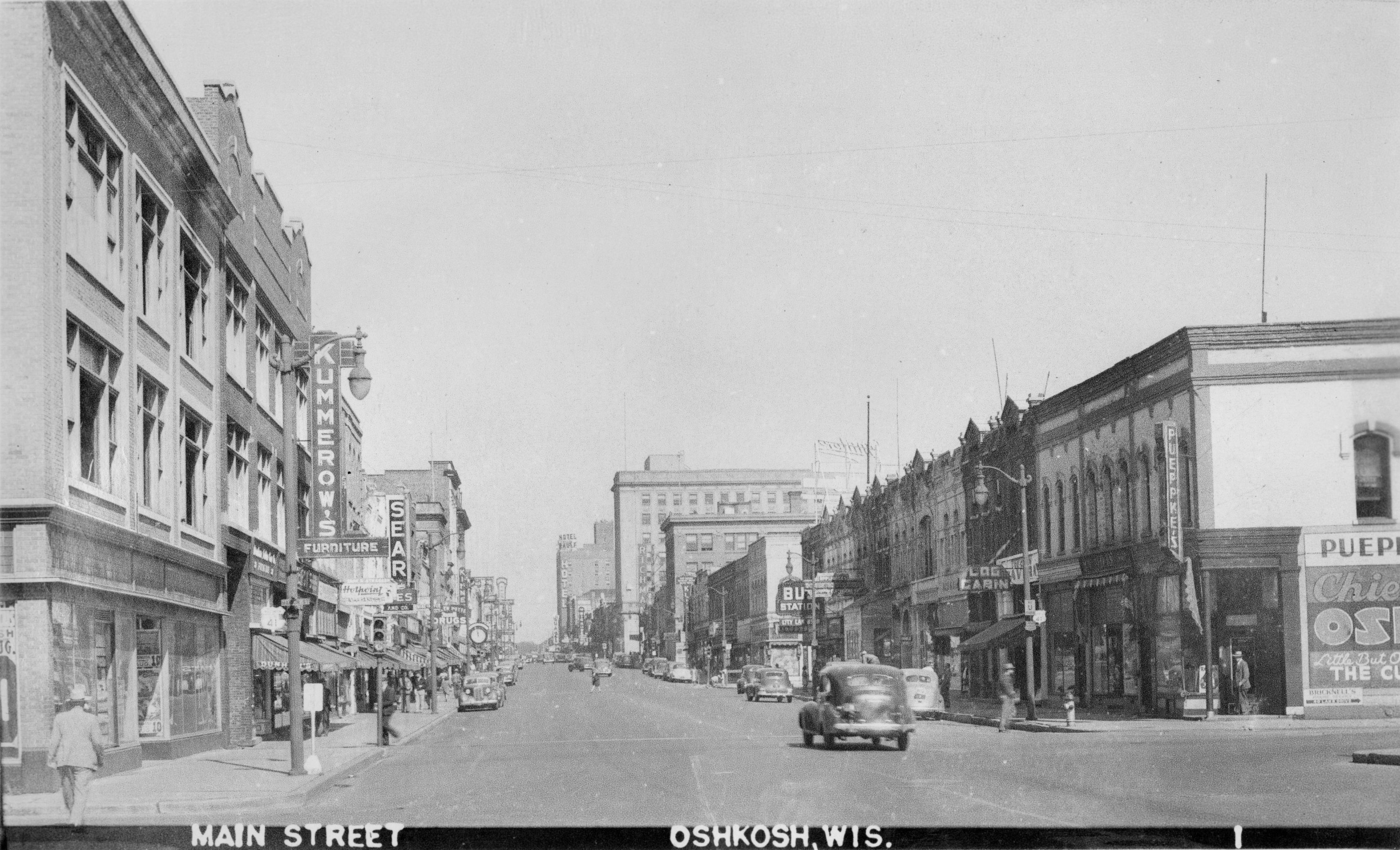 Main St., around 1944