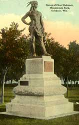 Chief Oshkosh Statue