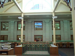 Library 2nd floor interior, 2000