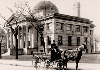 Library exterior pre 1912