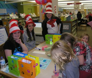 Seuss Day 2013 Volunteers