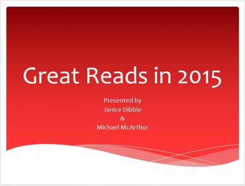 Great Reads of 2015