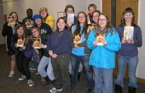 Teen Book Club Readers