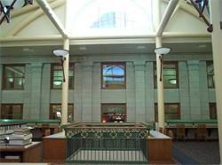 Library 2nd floor interior, 2000