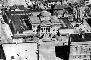 Aerial View, 1967. Photo courtesy of Oshkosh Northwestern.
