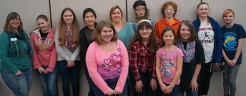 Teen Book Club Readers
